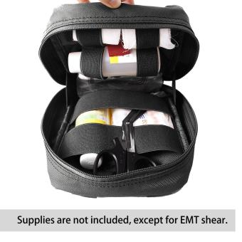 leegoal Molle Tactical Empty Medical Kits First Aid Bag - Black Price Philippines