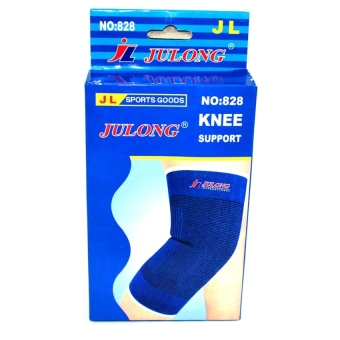 Julong #828 Elastic Knee Pad Support (Blue) Price Philippines