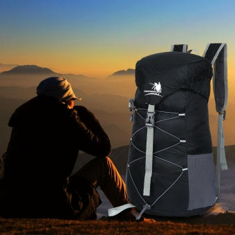 Free Knight 20L Shoulder Bag Travel Mountaineering Folding Package(Black) - intl Price Philippines