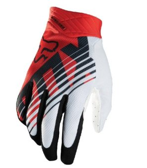 Harga Fortress Motorcycle /Bike Cycling Full Finger Gloves (White/Red/Black)