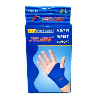 Julong No 718 Wrist Support (Blue) Price Philippines