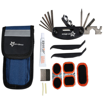 ROCKBROS Bike Tools Portable Tyre Repair Kit Tool Bag With Multi-function Tool Price Philippines