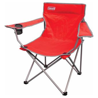 Harga Coleman Quad Armchair Go! Red