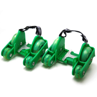 Harga Davis Flashing Wheels (Green)