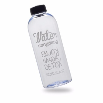 Harga Creative Fashion Detox Water Bucket Water Bottle Office School Lunchbox Companion With Bag 1000ml.