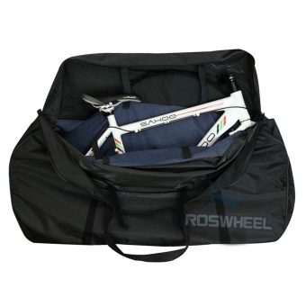 OH MT Mountain Road Bike MTB Wheel Bag Wheelset Bag Transport Pounch Carrier Black Price Philippines