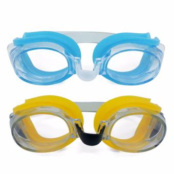 Unisex Swimming Goggles Beach Goggles With Earplugs and Nose Clip SET OF 2 Price Philippines
