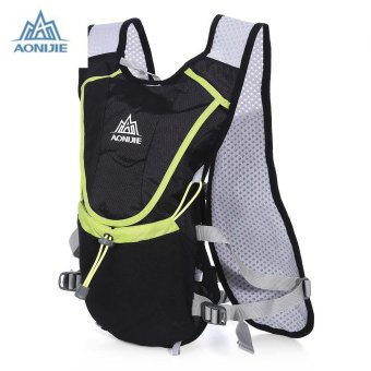 AONIJIE 8L Unisex Ultralight Running Water Bag Backpack (Black) - intl Price Philippines