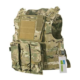 MOLLE Tactical Military Army Paintball Airsoft Combat Assault Vest Adjustable Price Philippines