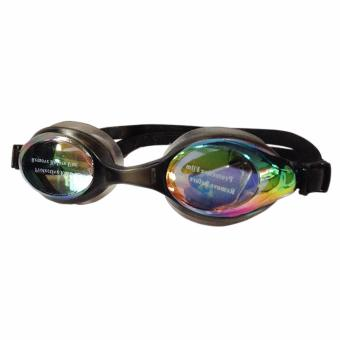 Swimming Goggles with Anti-Fog/UV Protection with Free Protection Case (Black) Price Philippines