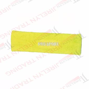 Harga Pro Sport Fitness Headband (Yellow)