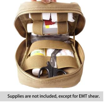 Leegoal Molle Tactical Empty Medical Kits First Aid Bag - Khaki - intl Price Philippines