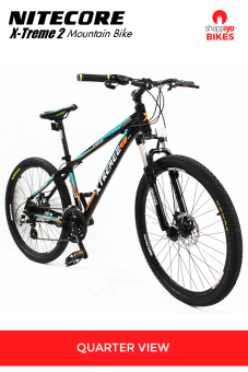 Harga Extreme Bikes Nitecore 2 Mountain Bike (Black)