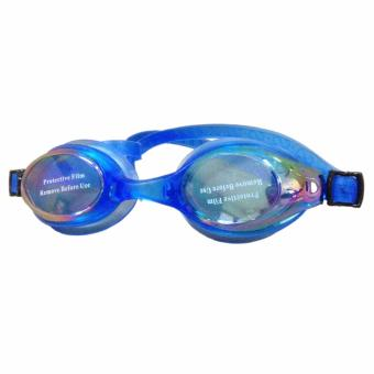 Swimming Goggles with Anti-Fog/UV Protection with Free Protection Case (Blue) Price Philippines