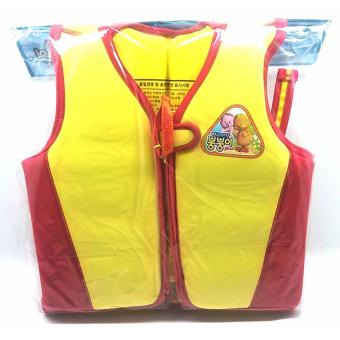 Harga EBS Water Sports Korean Life Jacket/Swimming Vest Printed Back For Kids 25kg