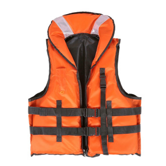 Harga LIXADA Professional Polyester Adult Safety Life Jacket Survival Vest Swimming Boating Drifting with Emergency Whistle