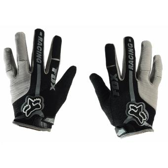 Harga Fortress Motorcycle /Bike Cycling Full Finger Gloves (Black/Grey)