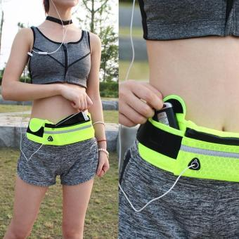 Harga Useful Waist bag for Sports Fitness green