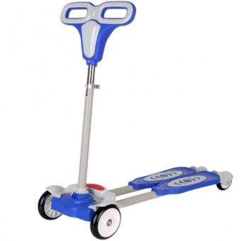 4 Wheel Scooter (Blue) Price Philippines