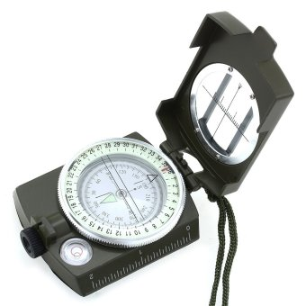 Harga Professional Military Army Prismatic Lensatic Sighting Compass