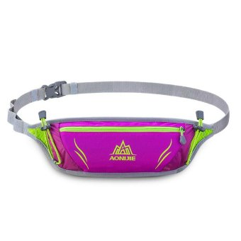 AONIJIE Running Bag Outdoor Sport Waist Pack Racing Hiking Camping Gym Fitness Anti-theft Belt Hip Bag - intl Price Philippines