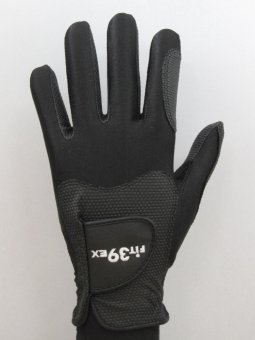 Harga Fit39Glove-EX Golf Glove Left Hand M (21-23cm) Black/Black
