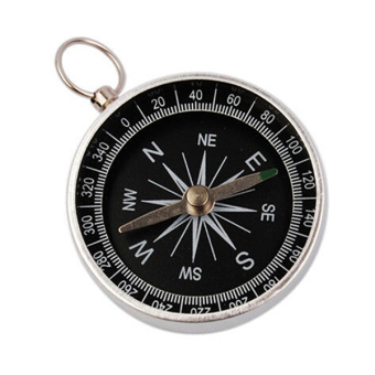 Harga Bluelans Silver Pocket Compass for Camping Hiking Outdoor Sports Navigation