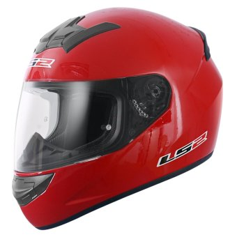 LS2 Full-Face FF352 Rookie Mono Helmets (Ferrari Red) Price Philippines