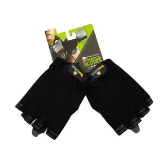 Harga FA Fitness Gloves FACM (Black)