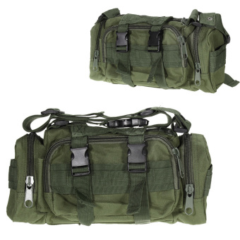 Green Outdoor Military Tactical Waist Pack Molle Camping Hiking Pouch Bag - INTL Price Philippines