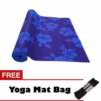 Harga Yoga Mat 4 mm Thick with Design
