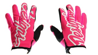 Harga Fortress Motorcycle/Bicycling Full Finger Gloves Design4 (Black/Pink)
