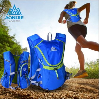 Running Cycling Vest Backpack Sports Camping Hydration Water Bladder Bag Blue Price Philippines