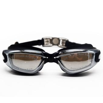 Swimming Goggles with Ear Plugs (Black) Price Philippines