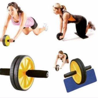 Harga QF AB Rocket 110 Wheel Total Body Exerciser