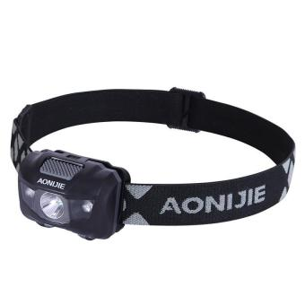 AONIJIE Outdoor Camping LED Headlight Waterproof Fishing Headlamp 4 Modes Flashing Mountaineering Night Running Cycling - intl Price Philippines