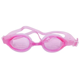 Swimming Goggles with Anti-fog Anti-UV Silicone (Pink) Price Philippines