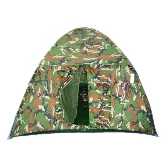 Harga 10-Person Dome Camping Tent (Camouflage)