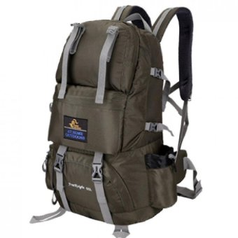 Free Knight Multifunctional Backpacks The Upgrading of Hiking Backpacks Necessary For Mountain Climbing Or Adventure (Army Green) Price Philippines