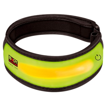 Body Sculpture Reflective Flashing Arm Band BP-206-H (Yellow) Price Philippines