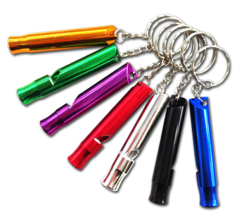 Harga Life Whistle Emergency Whistle Set of 6 (Multicolor)