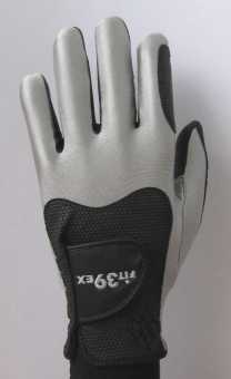 Harga Fit39Glove-EX Golf Glove Left Hand L (24-26cm) Silver/Black