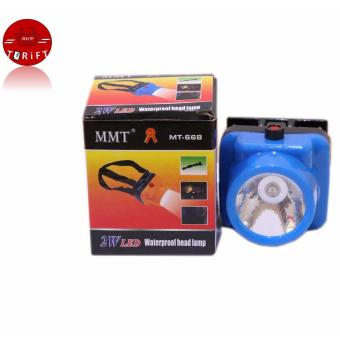 Harga MMT 668 Rechargeable Led Head Light FlashLight