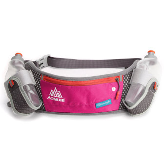 Unisex Travel Running Jogging Cycling Waist Pack Belt Bum Bag Storage Pockets Rose Price Philippines