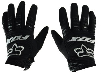 Harga Fortress Motorcycle /Bike Cycling Full Finger Gloves (Black)