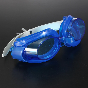 Anti-fog UV Proof Adult Swimming Goggle Fluorescent Deep Blue Price Philippines