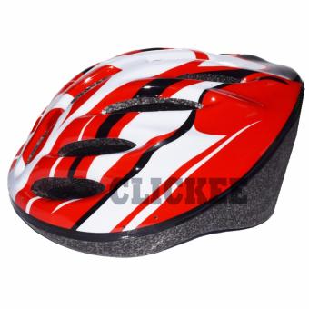 Harga Sporty Vents Adults Mountain Bike Helmet (Red)