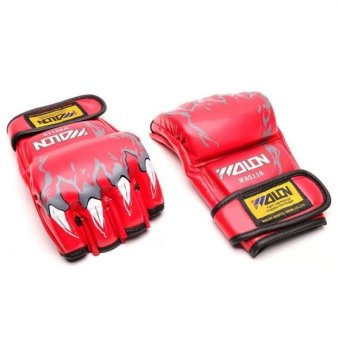 Harga Wolon MMA Boxing Gloves (Red)