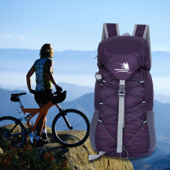 Free Knight 20L Shoulder Bag Travel Mountaineering Folding Package(Purple) Price Philippines