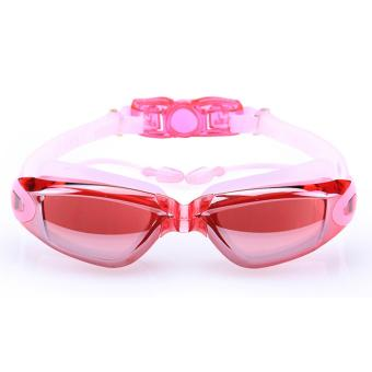 PAlight Swimming Goggles Anti-Fog UV Protection Crystal Clear Vision with Protective Case Fit For Adults Men Women Kids - intl Price Philippines